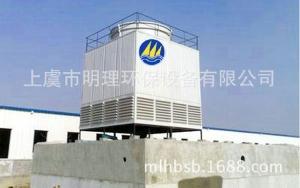 上海横流式玻璃钢冷却塔